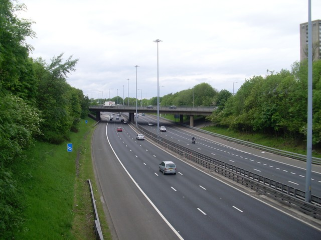 M8 from Dumbreck Road