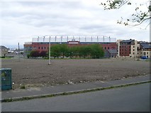 NS5564 : Ibrox Park from Paisley Road West by Stephen Sweeney
