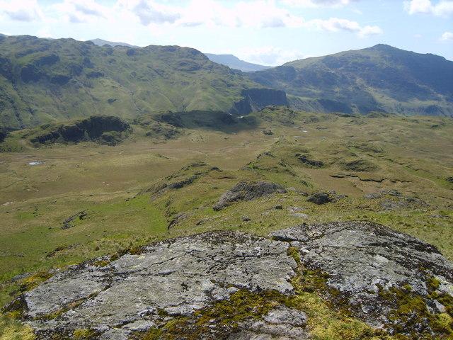Descending High Scarth Crag