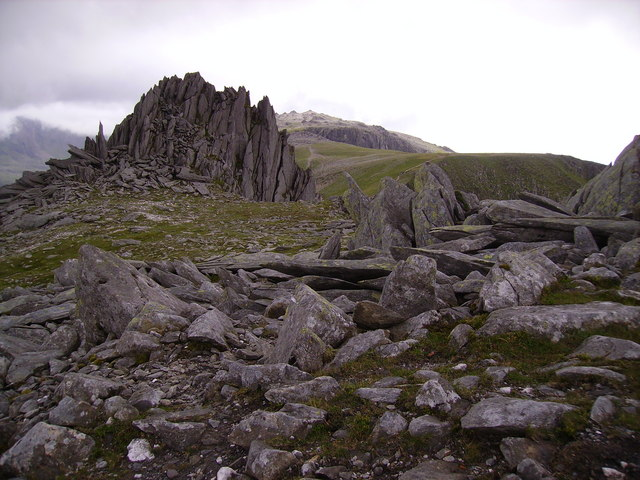 The Castle of the Wind on Glyder Fach