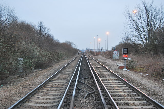 Crossing at Shorne