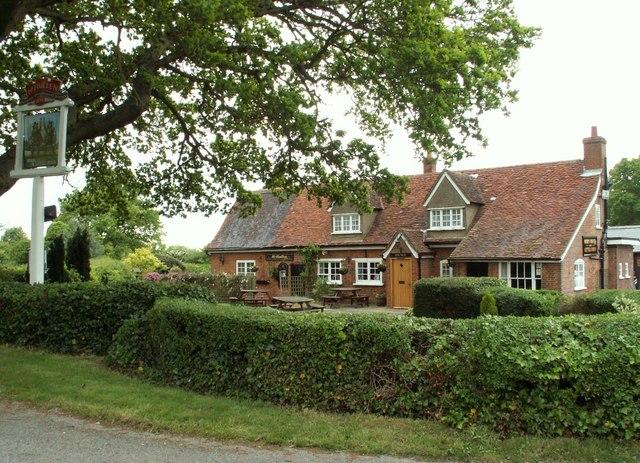 'Robin Hood & Little John' public house at Rabley Heath