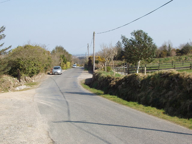 Road from Forth Mountain to Wexford