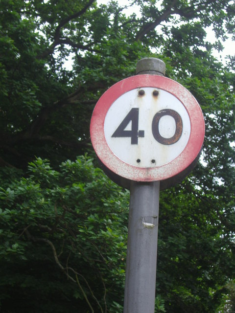 Pre-Worboys speed limit Bishops Avenue