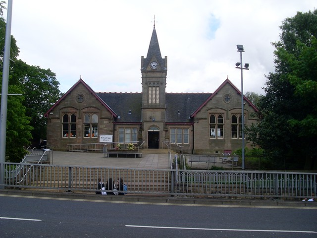 Bishopbriggs Library by Stephen Sweeney