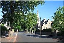 SO7845 : Avenue Road and Christchurch by Bob Embleton