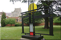 SU4829 : Hepworth Sculpture, Winchester by Stephen McKay