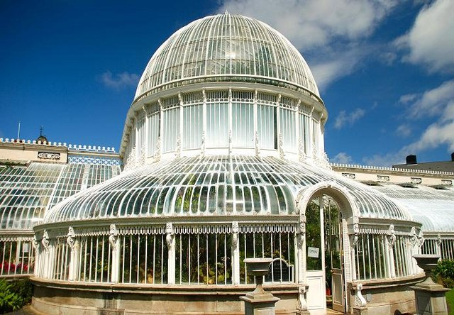 The Palm House dome, Belfast