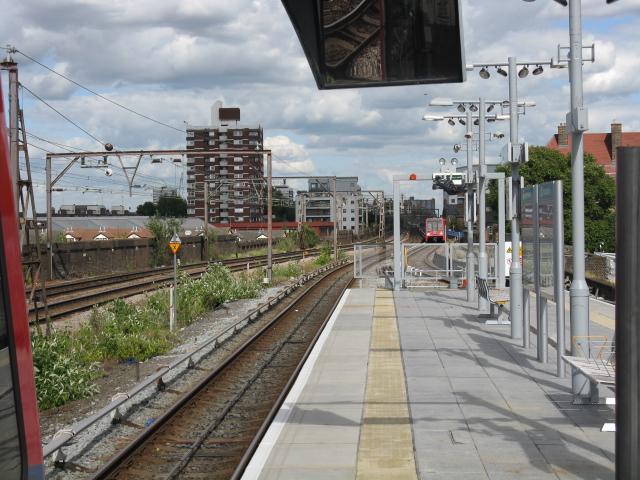 Shadwell DLR Station - Eastern Approach Viaduct