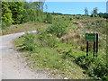 NS0288 : Entrance road to Cruach Mhor Windfarm by John Ferguson