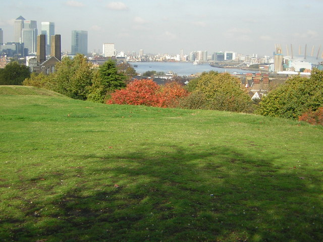 The Thames from Greenwich Park