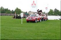 ST8083 : The Lake at Badminton Horse Trials 2009 by Chris Carlson