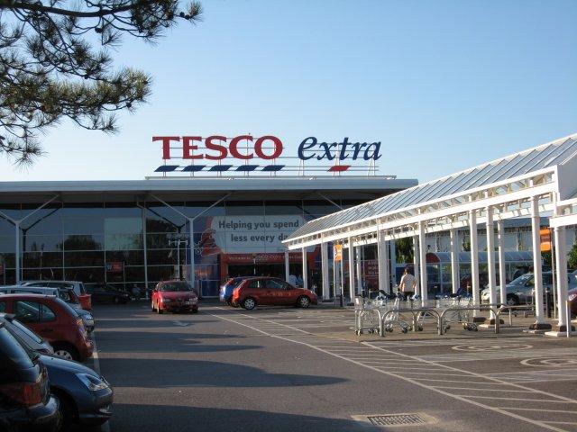 Tesco Extra, Fleetsbridge Corner, Poole