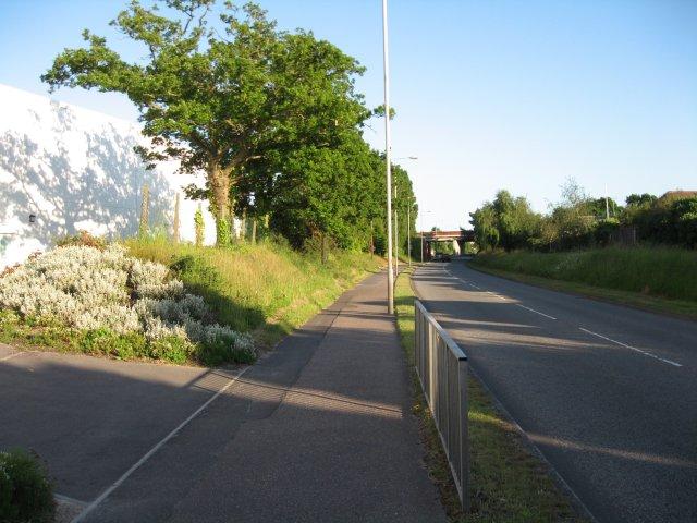 Broadstone Way at Fleetsbridge