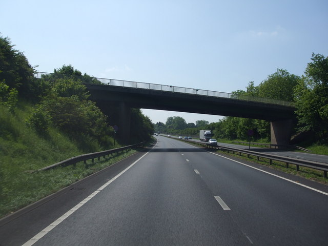 A1 Southbound Markham Road flyover