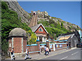 TQ8209 : East Hill Lift Funicular Railway, Hastings by Oast House Archive