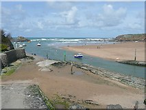 SS2006 : The River Neet in Bude Haven by Humphrey Bolton