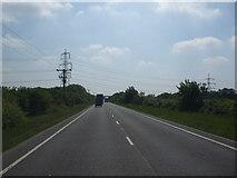SK8354 : A17 Coddington by Glyn Drury