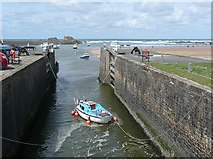 SS2006 : The sea lock, Bude by Humphrey Bolton