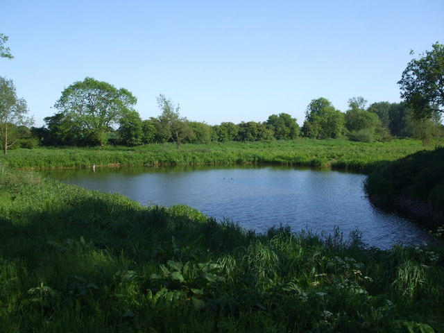 Pond next to Bottoms Drain