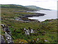 NR5773 : Rocky coast north of An Dùnan by Andrew Curtis