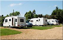SP5163 : Bush Hill Farm campsite, Flecknoe by Andy F