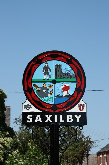 Saxilby village sign