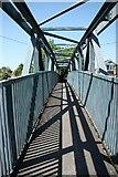 SK8975 : Fosdyke footbridge by Richard Croft