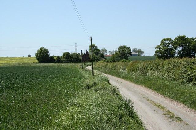 Hardwick Wood Farm Lane