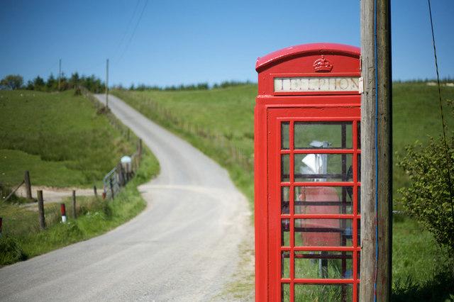 Phonebox At Brynafan