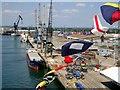SU3812 : Southampton Docks by Val Pollard
