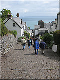 SS3124 : Down-along, Clovelly by Pauline E