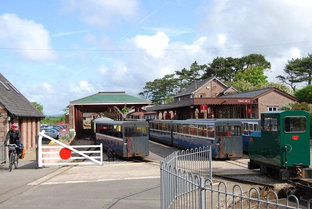 Ravenglass & Eskdale Railway Station, Ravenglass.