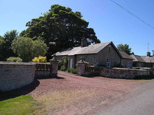 East Lodge, Alnham House