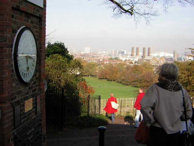 The 24 hour clock at the Greenwich Meridian