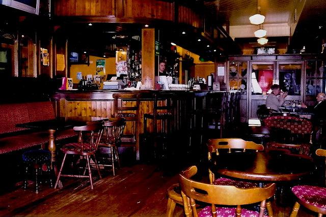 Gweedore area - Teach Jack's Hotel pub near Brinlack