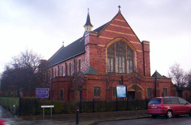 St Andrew's church, Litherland