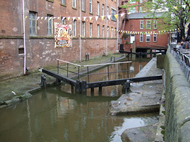 Lock 86, Rochdale Canal (Manchester City Centre)