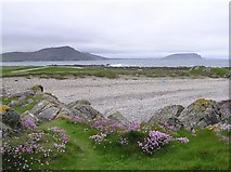 C3952 : Carrickabraghy, Doagh Island by Kenneth  Allen