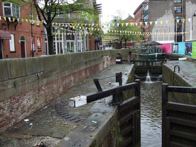 Lock 87, Rochdale Canal (Manchester City Centre)