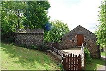 NY1700 : Church House Barn near Boot by N Chadwick