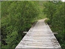 NN3268 : Bridge, Allt Iolairean by Richard Webb