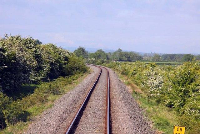 Railway near Temple Herdewyke