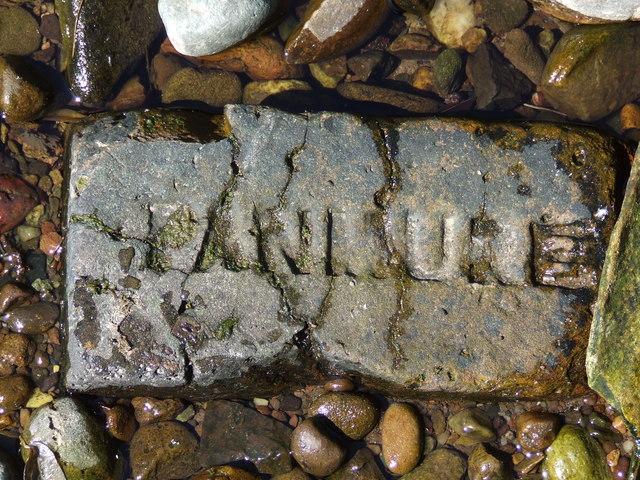Brick marked PANMURE