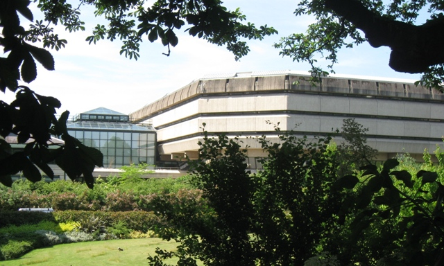 National Archives – The Rear Entrance as seen from the Thames Path