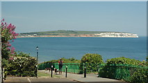 SZ5881 : Shanklin - Coastal Path by Peter Trimming