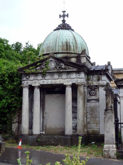 Eustratious Ralli's mausoleum, Greek Orthodox Cemetery, West Norwood Cemetery