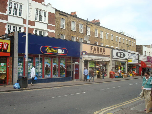 Shops, Rye Lane, Peckham, London SE15