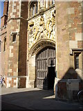 TL4458 : The Great Gate of St John's College by Stanley Howe