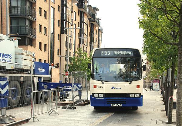 Express bus, Belfast